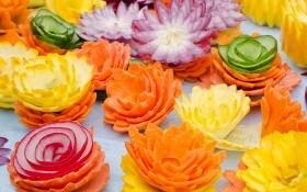 Карвинг: 6 простых идей, чтобы украсить блюда своими руками