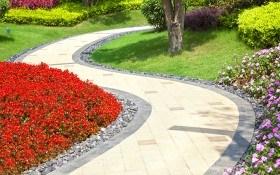 Садовые дорожки: надежно и красиво
