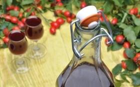 Вино из шиповника