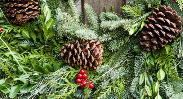 Самые оригинальные идеи для рождественского венка