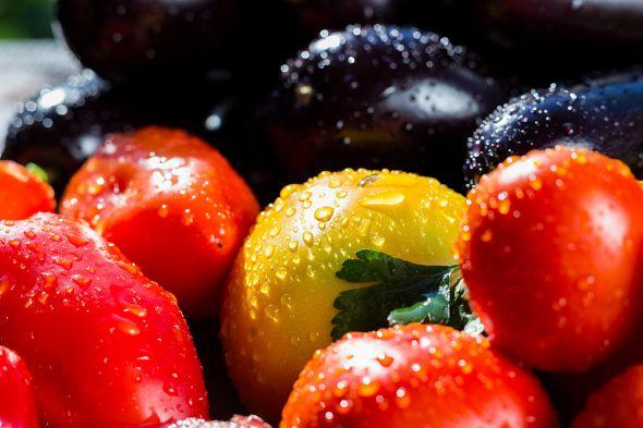 помидоры баклажаны перец