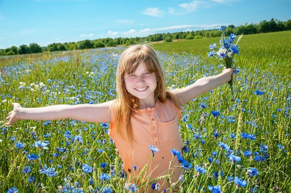 Голубой цвет: дарит спокойствие и мудрость