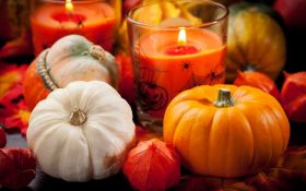 Ароматные свечи цвета осени. Делаем сами
