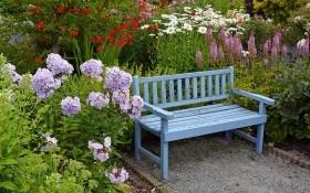 Садовая скамейка — незаменимый предмет на вашей даче