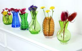 Красочные вазы в цвет вашего настроения