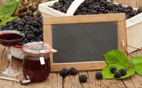 Ежевичное вино