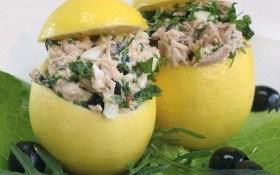 Лимоны фаршированные