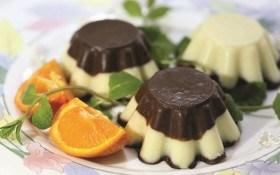 Молочно-шоколадный пудинг