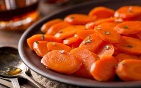 Морковь глазированная