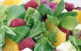 Салат «Малиновый праздник»
