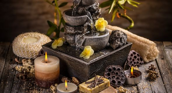 Мини-фонтан своими руками для отдыха в саду. Опыт наших читателей