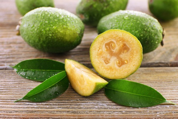 Фейхоа плоды