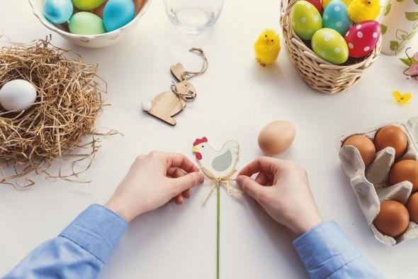 Украшаем дом к празднику: пасхальный декор